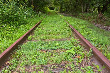 Forgotten Tracks - Exclusive HDR Stock by somadjinn