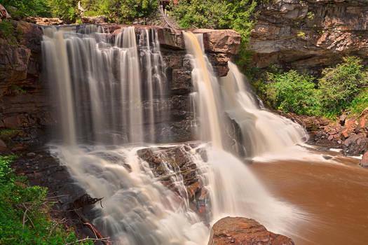 Blackwater Falls II - Exclusive HDR Stock by somadjinn