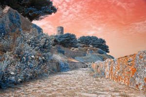 Once Upon a Guernsey Path-Pastel Fantasy (freebie) by somadjinn