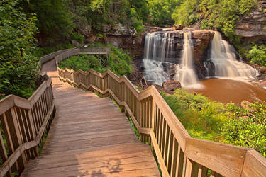 Blackwater Falls III by somadjinn