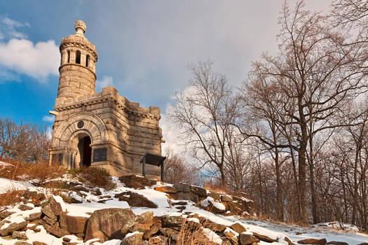 Winter Gettysburg Castle - free hdr stock by somadjinn