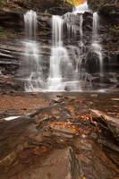 Ganoga Falls - free stock by somadjinn