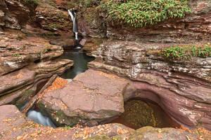 Adams Triangle Falls by somadjinn