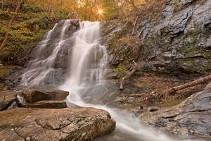 Jones Sun Falls by somadjinn