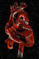 Vintage Rose Heart by somadjinn
