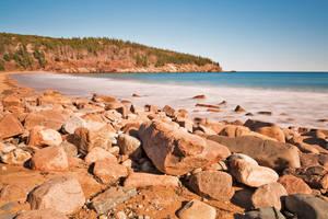 Rocky Sand Beach by somadjinn