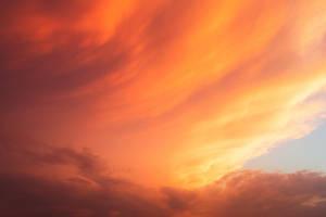 Celestial Fire Clouds by somadjinn