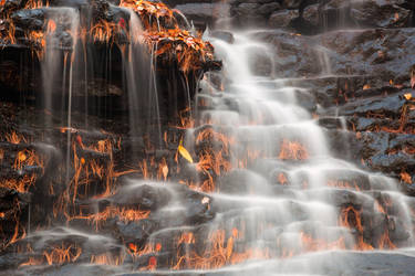 Shades of Death Waterfall by somadjinn