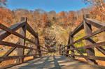 Bridge to Fall - Harpers Ferry by somadjinn