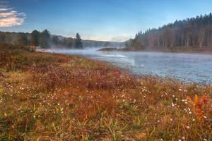 Pendleton Cotton Mist Lake (freebie) by somadjinn