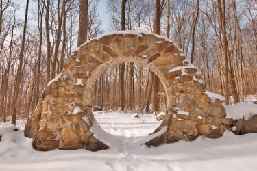 Winter Celtic Eye Trail by somadjinn