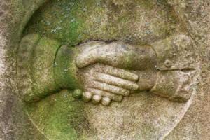 Tombstone Handshake by somadjinn