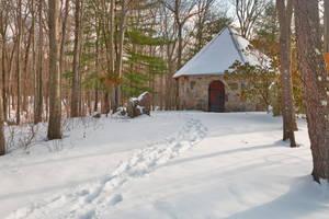 Winter Chapel Trail by somadjinn