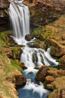 Hidden Iceland Gem Falls by somadjinn