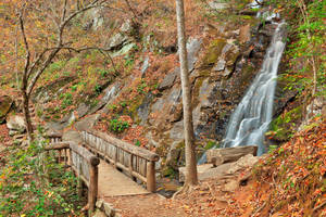 Juney Whank Bridge Falls by somadjinn