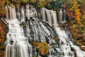 Twin Falls by somadjinn