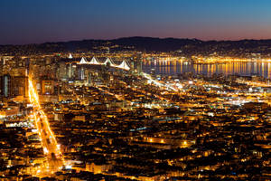San Francisco Dawn Lights by somadjinn