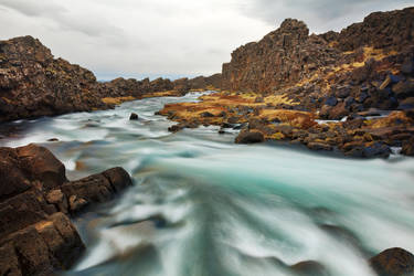 Oxara River by somadjinn