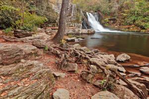 Rugged Abrams Falls by somadjinn