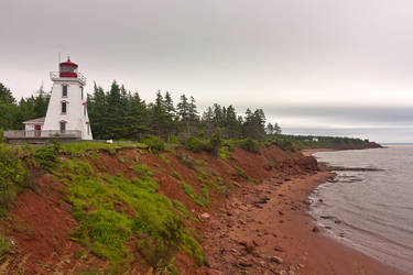 Cloudy PEI Coast (freebie) by somadjinn