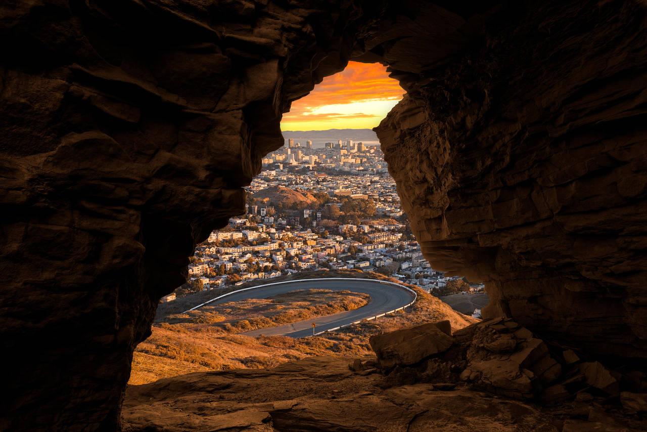 San Francisco Sandstone Sunrise by somadjinn