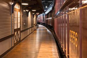 Retro Railroad Platform by somadjinn