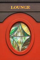 Train Lounge Window by somadjinn