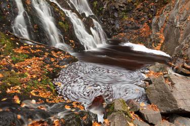 Hays Triple Swirl Falls by somadjinn
