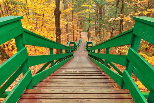 Autumn Dorwin Staircase by somadjinn