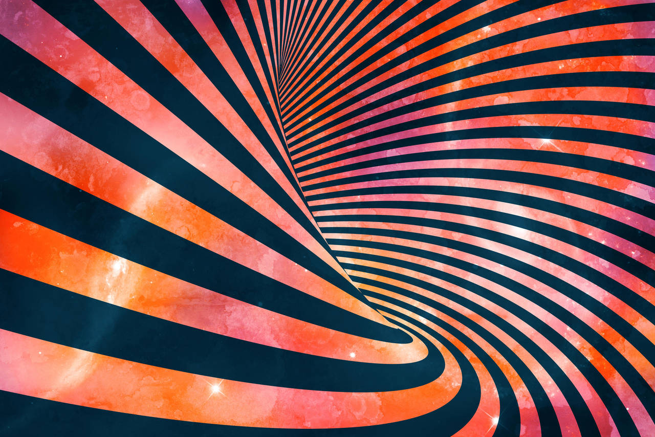 Acrylic Space Vortex by somadjinn