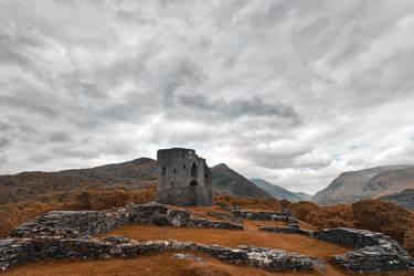 Ancient Dolbadarn Castle by somadjinn