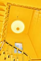 Yellow Cyclops Staircase by somadjinn