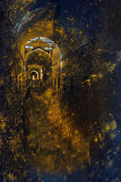 Golden Grunge Prison by somadjinn