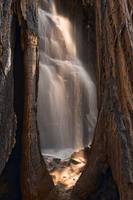 Sequoia Sunbeam Falls by somadjinn