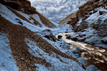 Blue River Gorge by somadjinn