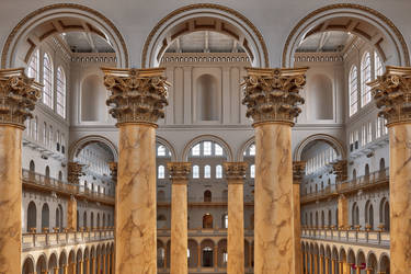 Columns and Archways (freebie) by somadjinn