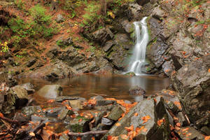 Rugged Autumn Howland Falls by somadjinn