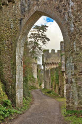 Gwrych Castle Arch Road by somadjinn