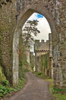Gwrych Castle Arch Road by somadjinn