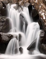 Ogwen Cottage Falls by somadjinn