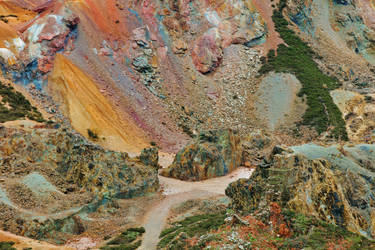 Welsh Copper Pit Pass by somadjinn