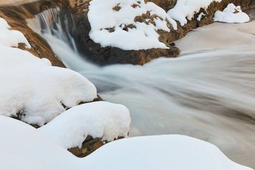 Croydon Winter Creek by somadjinn