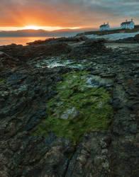 Penmon Point Sunrise by somadjinn