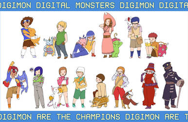 DIGIMON ARE THE CHAMPIONS by soltian