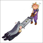 Ultimate Cloud vs Sephiroth by soltian