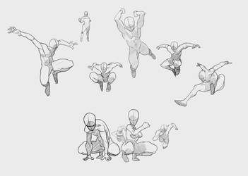 Study Poses by Calvados9x