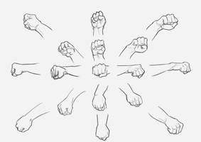 Practice with hands by Calvados9x