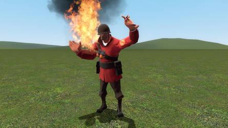 gmod - Fire Soldier by gurkepro