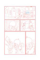 comic goodness by LazaroRuiz