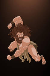 Samson by LazaroRuiz